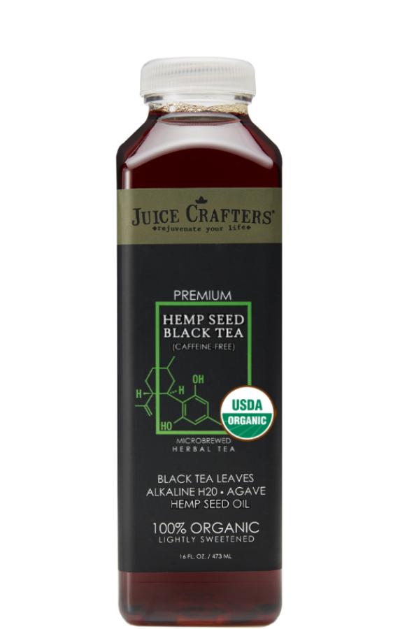 Hemp Seed Black Tea